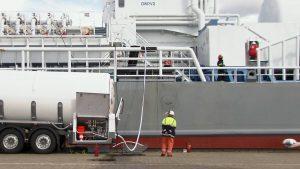 Gasolie filteren voor schepen