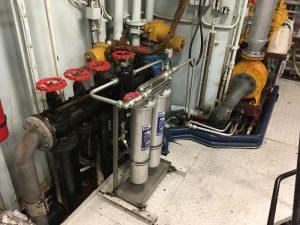 De oliefilterinstallatie van Viskotter UK95
