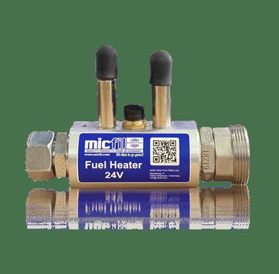 Filter heating