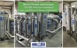 Micfil - grote filtratiesystemen