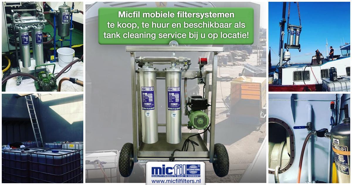 Micfil mobiele filtersystemen