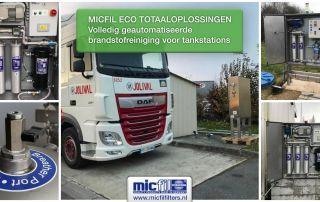 ECO brandstof reiniging