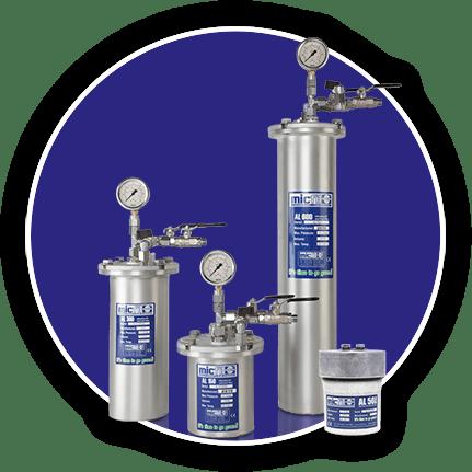 Micfil smeerolie filtratie